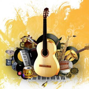 music instruments , music relaxing music